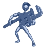 Silver Plumber - Clip